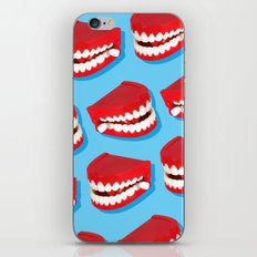 Chattering teeth iPhone & iPod Skin