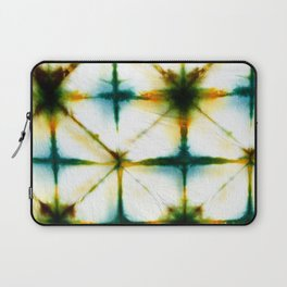 Golden Grid Shibori #8 Laptop Sleeve