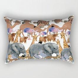 The Zoo Rectangular Pillow