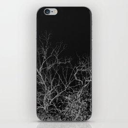 Dark night forest iPhone Skin