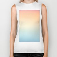 gradient Biker Tanks featuring Gradient Sun by Alexandra Str