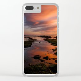 Sunset. Oregon Coast Clear iPhone Case
