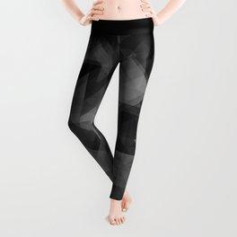 triangles black Leggings