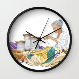 Seamstress Wall Clock
