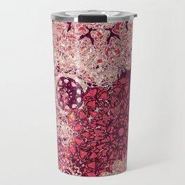 Terra Rose Mandalas Travel Mug