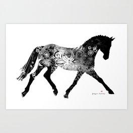 Horse (Noblesse oblige) Art Print