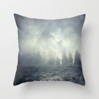 guardians Throw Pillows featuring guardians  by Dirk Wuestenhagen Imagery
