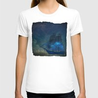 ships T-shirts featuring Ships and Stars by AmandaRoyale