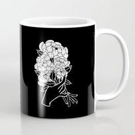 Peony Floral Bouquet Coffee Mug