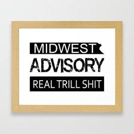 Midwest Advisory Framed Art Print