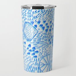 Luminious Way Azores Blue Travel Mug