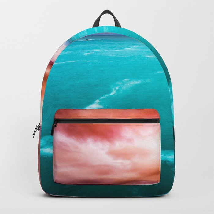 Fire and Water Sea Backpack
