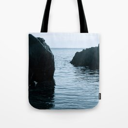 Blue Veins Tote Bag