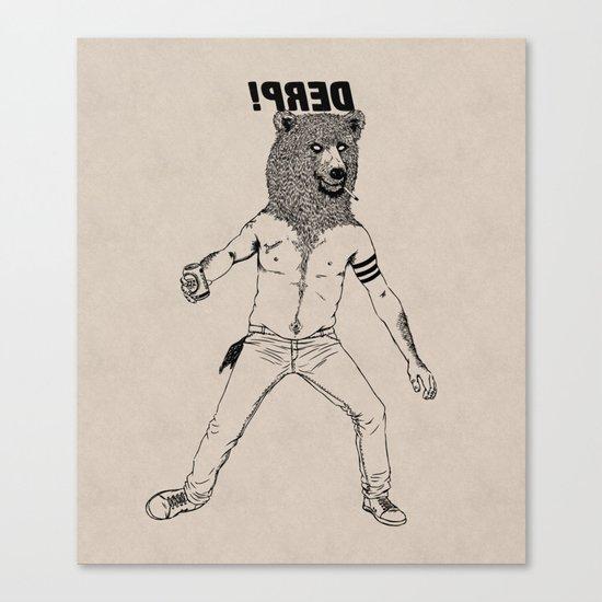 DERP!!! Canvas Print