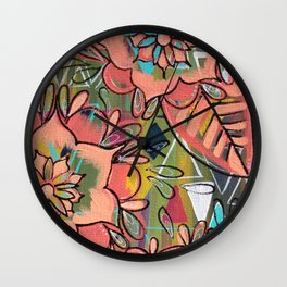 Listen to the Whispers Wall Clock
