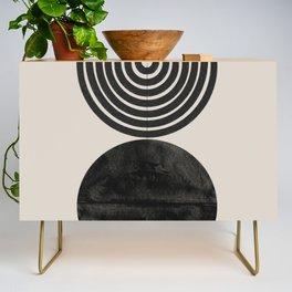 Woodblock Print, Modern Art Credenza