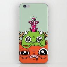 Monster Mind iPhone & iPod Skin