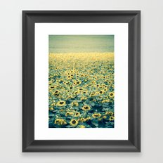 Bashful Framed Art Print
