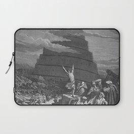 Gustave Dore - Bible Tour de Babel Laptop Sleeve