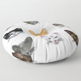A Purrfect Pattern Floor Pillow