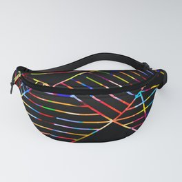 Rainbow Whackadoodle Fanny Pack