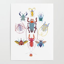 Stitches: Bugs Poster