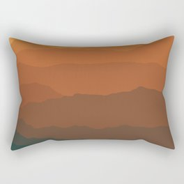 Ombré Range No. 3 Rectangular Pillow
