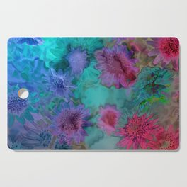 Flowers abstract #2 Cutting Board