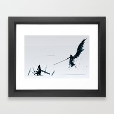 Never be a Memory Framed Art Print