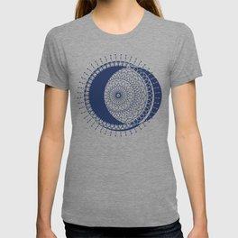Moon Mandala (Dark Blue) T-shirt