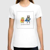 finn and jake T-shirts featuring Finn & Jake- Superheroes by Brittain Rhea