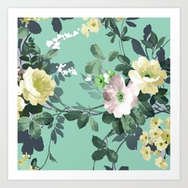 The perfect flowers for me 15 Art Print