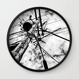 Crosswire Wall Clock
