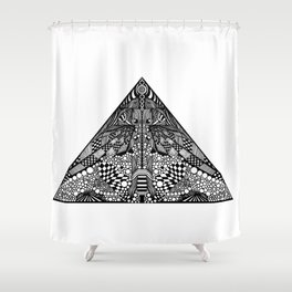 [pyramid 22] Shower Curtain