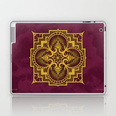 omjárah gold gallery mandala Laptop & iPad Skin