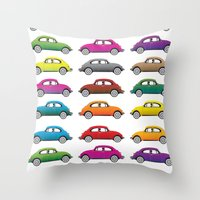 bugs Throw Pillows featuring Bugs!! by Cloz000
