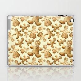 Gingerbread men. And women Laptop & iPad Skin