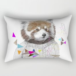 RED PANDA by Jamie Mitchell and Kris Tate Rectangular Pillow