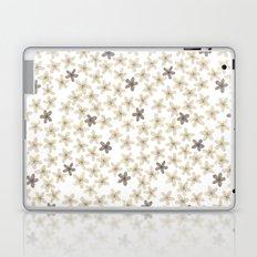 Grey and yellow flowers  Laptop & iPad Skin