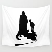 snape Wall Tapestries featuring Always by Mari Anrua