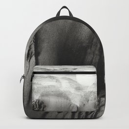 Blackwater Park - abstract watercolor monotype Backpack
