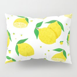 Big Lemon pattern Pillow Sham
