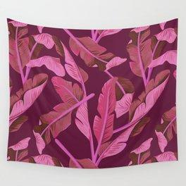 Tropical '17 - Ajaja [Banana Leaves] Wall Tapestry