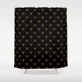 Dark Chocolate Moose Shower Curtain