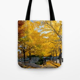 Autumn in NY Tote Bag