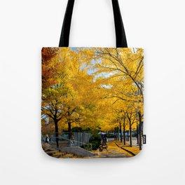 Autumn in NY Tote Bag