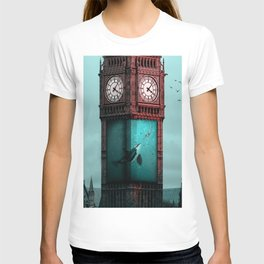 AquaBigBen - Julien Tabet - Photoshop Artwork T-shirt