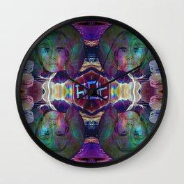 Warhol Pharaoh Wall Clock