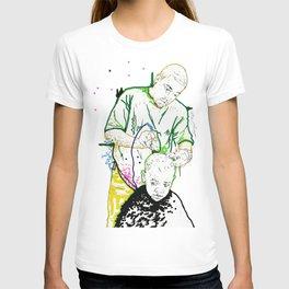 Daddy Do: Barber Shop Artwork T-shirt