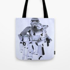 Trooper with Kids Tote Bag